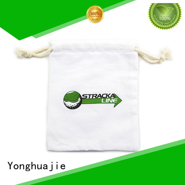 white ears cotton shopping bags with handle for shopping