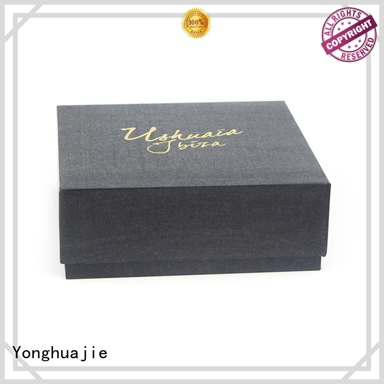Yonghuajie small paper jewellery box thick for jewelry shop
