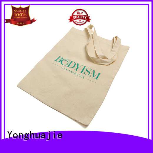 cotton gift bag with drawstring for packaging Yonghuajie