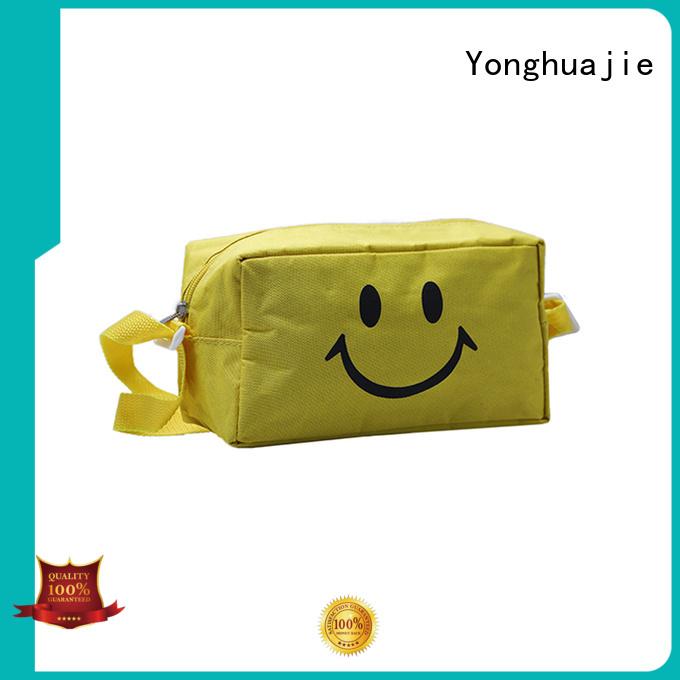 Yonghuajie drawstring waterproof canvas backpack manufacturers for packing