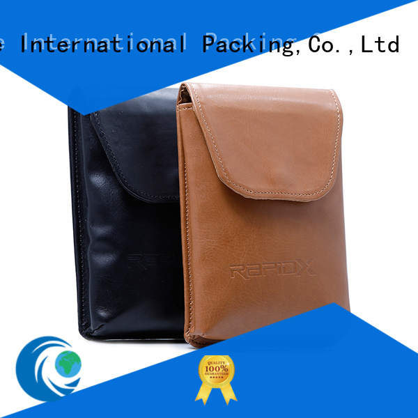 Yonghuajie obm small leather makeup bag free sample for necklace