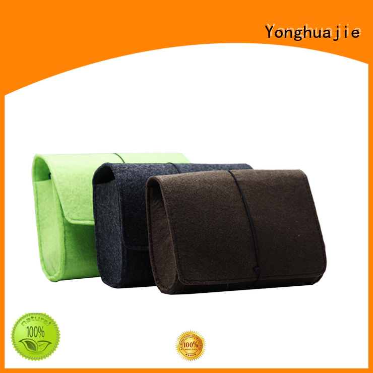 durable made flap felt tote bag Yonghuajie