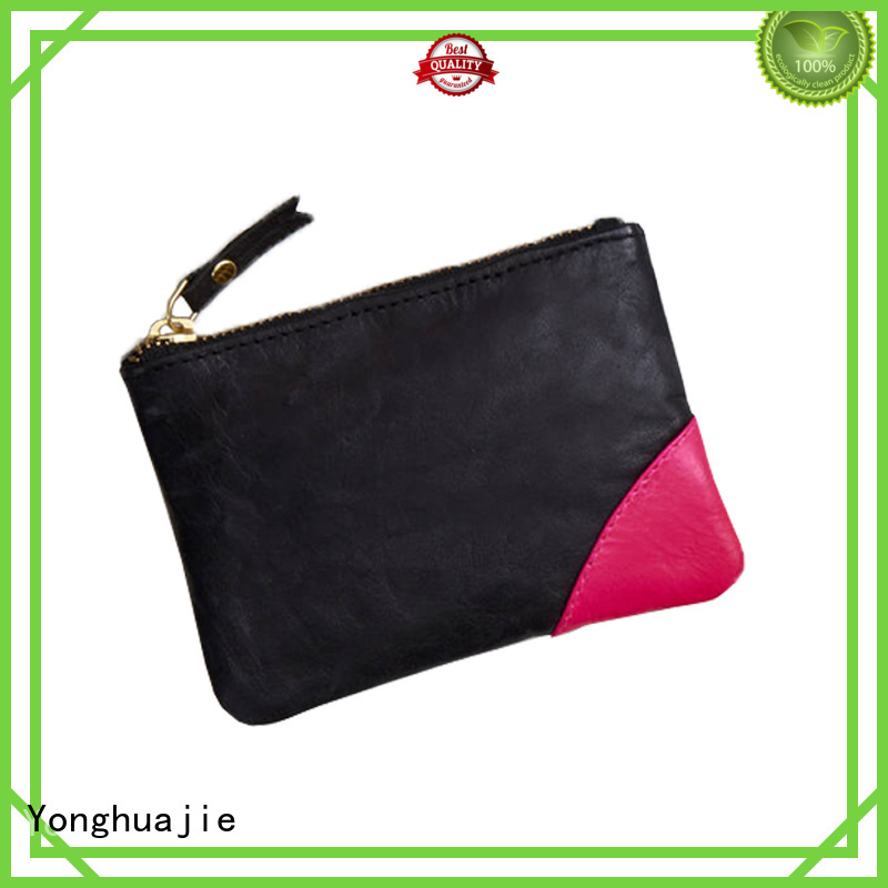 large womens leather toiletry bag fast delivery Yonghuajie