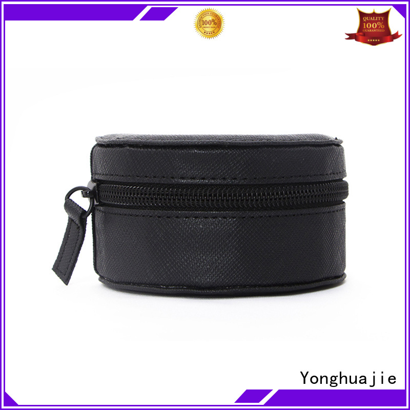 Yonghuajie custom leather box free sample for necklace