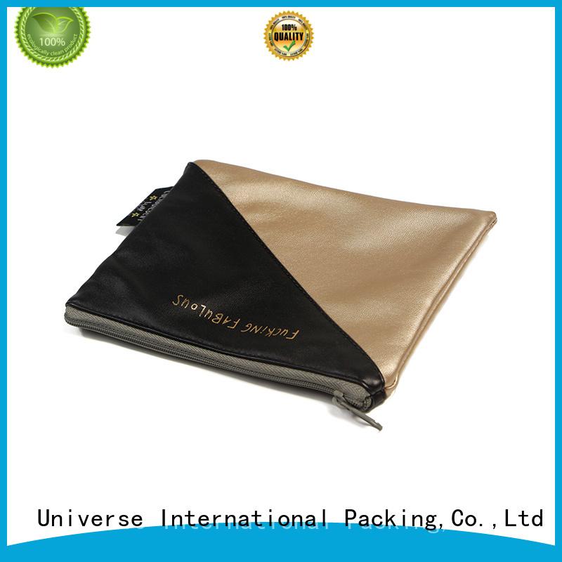 Pu Leather Cosmetic Zipper Bag