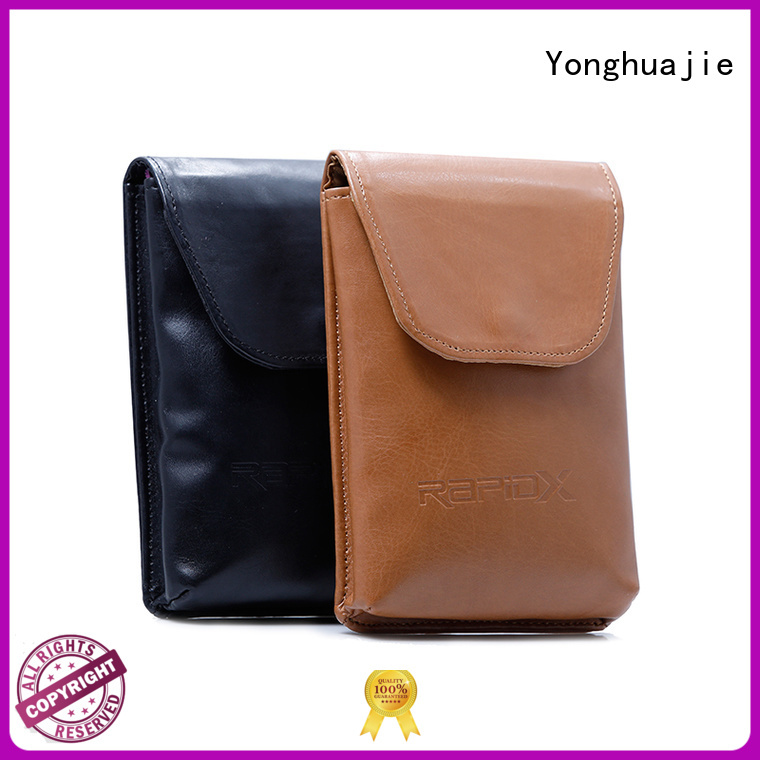Yonghuajie obm custom makeup bags at discount for gift