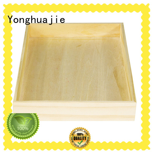 Yonghuajie Latest wooden memory box Suppliers for goods