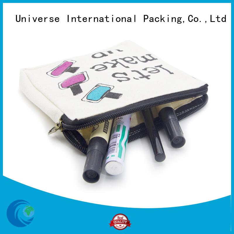 tassel canvas tote bags with zipper star printed for packaging Yonghuajie