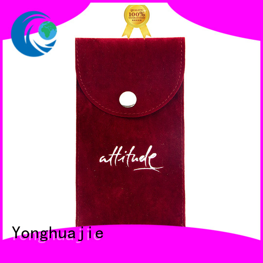 Yonghuajie gold satin bags for business for jewelry shop