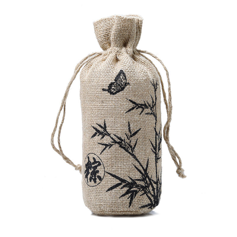 high-quality jute sack jute shopping bag free sample for packing Yonghuajie-1