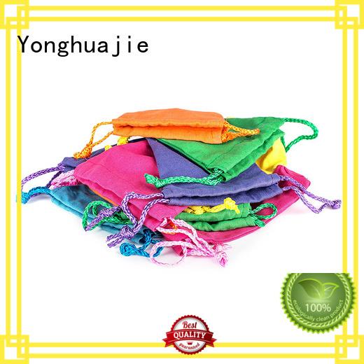 Yonghuajie plain canvas tote bags grey canvas canvas zipper bag canvas drawstring bag, tool for travel